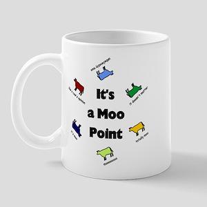 It's a Moo Point Mug