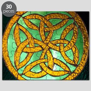 Irish knot and hand rosary 009 Puzzle