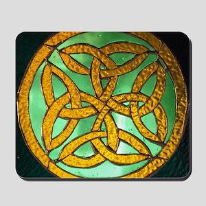 Irish knot and hand rosary 009 Mousepad