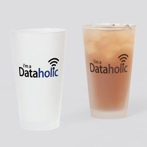 Dataholic Drinking Glass