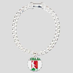 italia a Charm Bracelet, One Charm