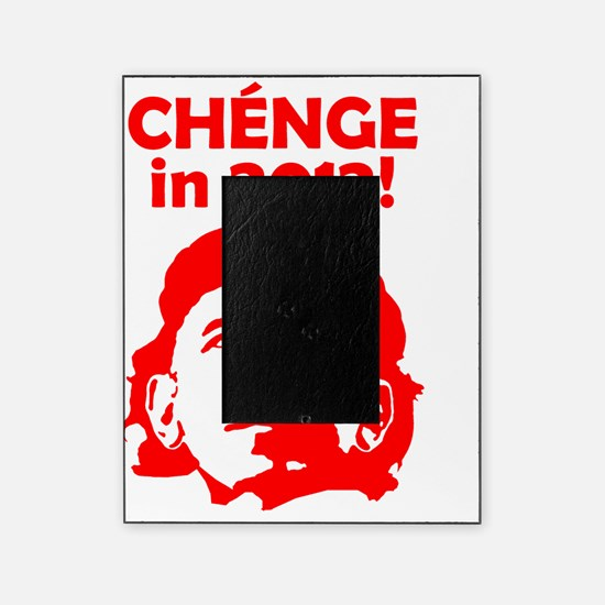 CHENGE in 2012 RED Picture Frame