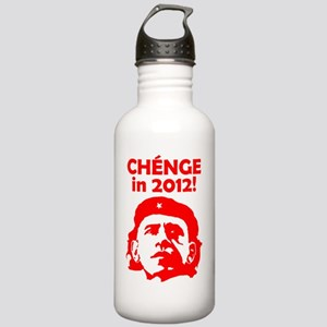 CHENGE in 2012 RED Stainless Water Bottle 1.0L