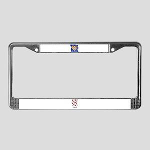 BE MINE TEDDY BEAR License Plate Frame