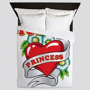 sicilian princess Queen Duvet