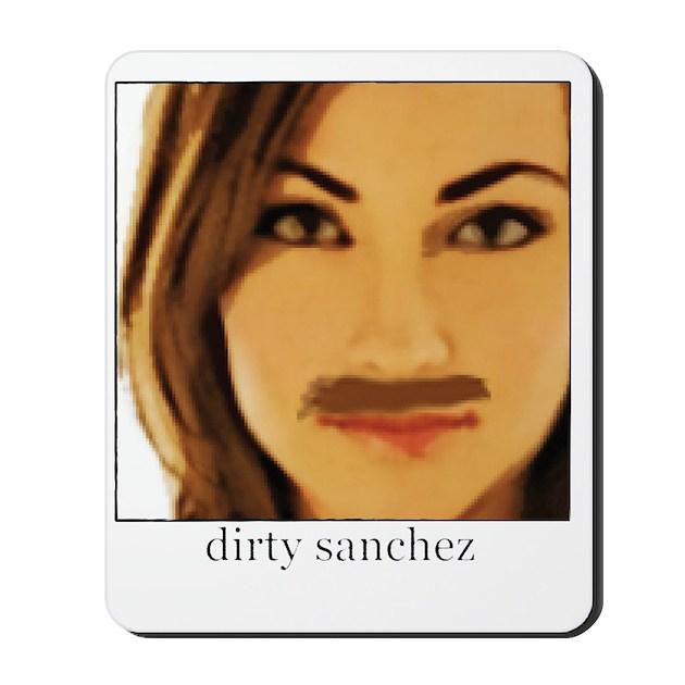 Dirty sanchezed