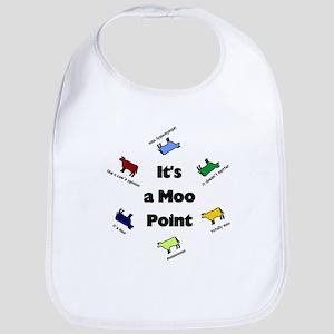 It's a Moo Point Bib