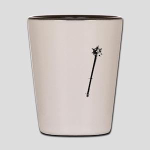 Cleric white Shot Glass