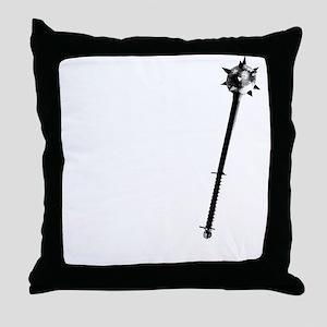 Cleric white Throw Pillow