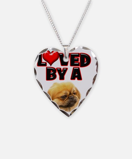 Loved by a Pekingnese Necklace