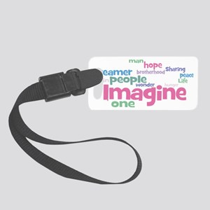 Imagine_black Small Luggage Tag