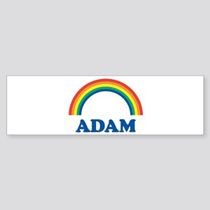 ADAM (rainbow) Bumper Sticker