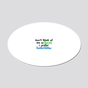 Limited Edition light boy 20x12 Oval Wall Decal