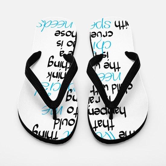 Cruel light Flip Flops