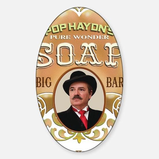 Wonder Soap Sticker (Oval)