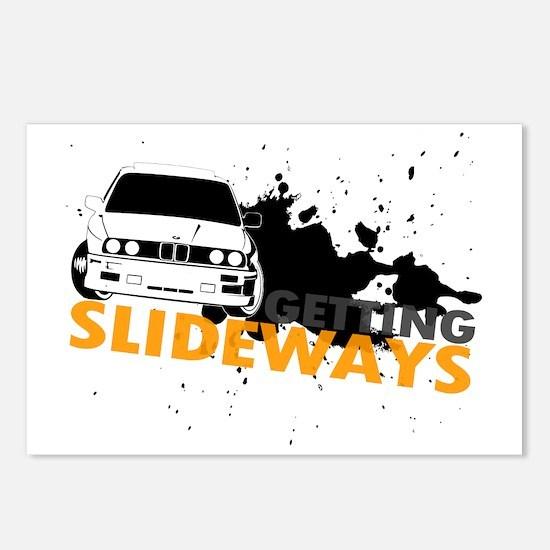 BMW Getting Slideways Postcards (Package of 8)