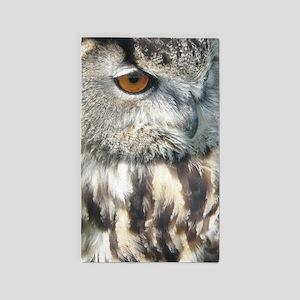 owl large 3'x5' Area Rug