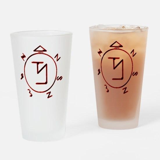 banishing sigil Drinking Glass