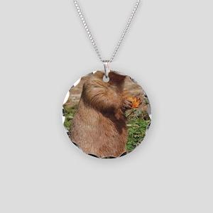 Prairie dog 9x12 Necklace Circle Charm