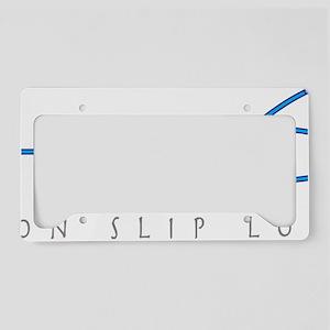 Non slip loop_1 License Plate Holder