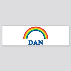 DAN (rainbow) Bumper Sticker