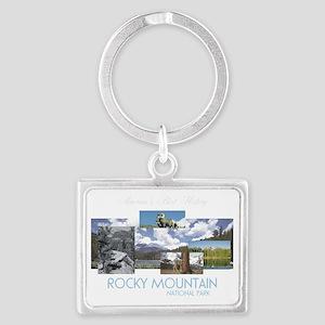 rockymtntran Landscape Keychain