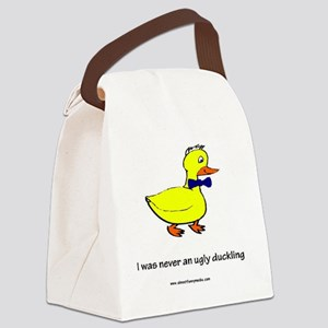 big ducky Canvas Lunch Bag