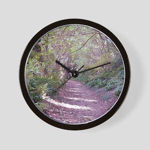 woodwalk ipads Wall Clock