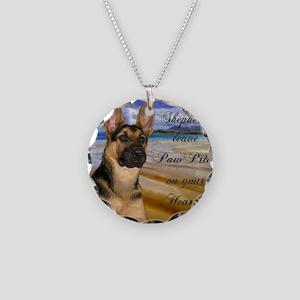 spirit_7n_pillow Necklace Circle Charm