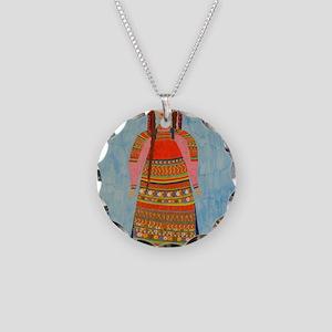 MalinaPillow Necklace Circle Charm