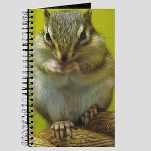 chipmunk 10x14 Journal