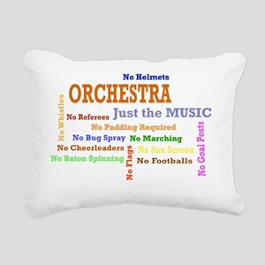 orch_just_the_music Rectangular Canvas Pillow