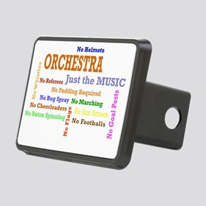 orch_just_the_music Rectangular Hitch Cover