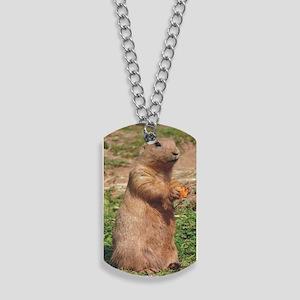 prairie dog larger Dog Tags