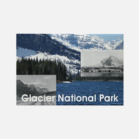 glacier1b Rectangle Magnet