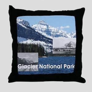 glacier1b Throw Pillow