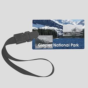 glacier1b Large Luggage Tag