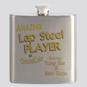 funny lap steel guitar Flask