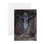 Davaar Cave Painting Greetings (pk Greeting Cards