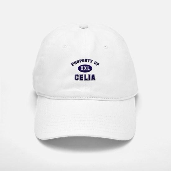Property of celia Baseball Baseball Cap