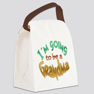 IM GOING TO BE A GRANDMA Canvas Lunch Bag