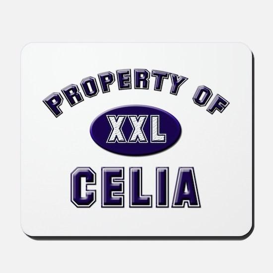 Property of celia Mousepad