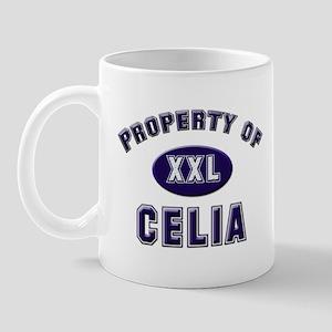 Property of celia Mug