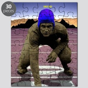 Football Player Desert Puzzle