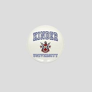 KINDER University Mini Button