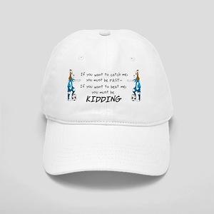 soccerdog kidding mug Cap