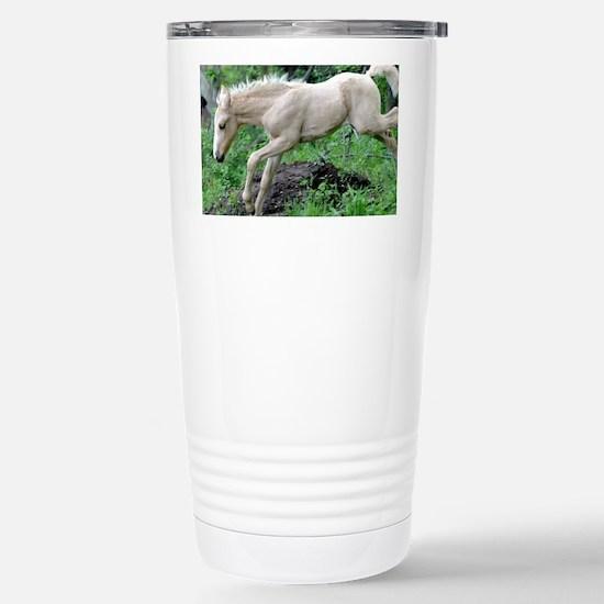 leaping_laptop Stainless Steel Travel Mug