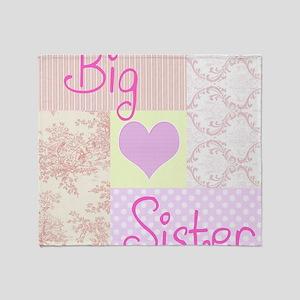 Big Sister copy Throw Blanket