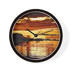 Machrihanish Sunset Wall Clock