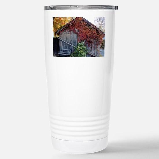 barn_laptop Stainless Steel Travel Mug